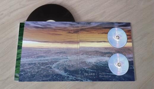 Solaris. Sound and Vision (Colonna Sonora) - Vinile LP + CD Audio + Blu-ray di Edward Artemiev - 3