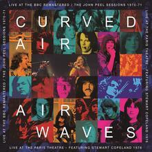 Airwaves. Live at the BBC (Blue Coloured Vinyl) - Vinile LP di Curved Air