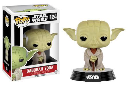 Funko POP! Star Wars. Dagobah Yoda Bobble Head - 2