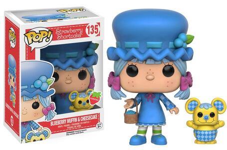 Funko POP! Strawberry Shortcake. Blueberry Muffin and Cheescake