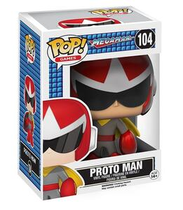 Funko POP! Games Megaman. Proto Man