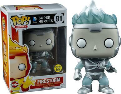 Funko POP! DC Universe. White Lantern Firestorm Glow-In-The-Dark - 5