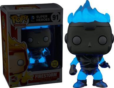 Funko POP! DC Universe. White Lantern Firestorm Glow-In-The-Dark - 7