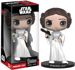 Funko Wacky Wobblers. New Edition. Star Wars Princess Leia Bobble Head