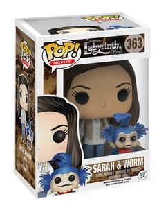 Funko POP! Movies. Jim Hensons Labyrinth. Sarah & Worm