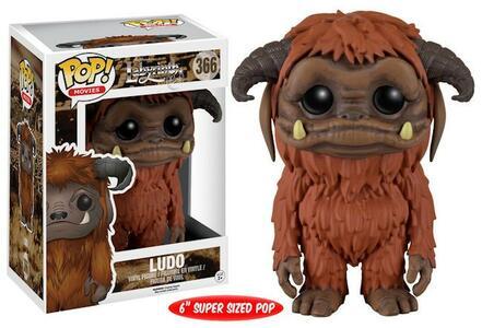 Funko POP! Movies. Jim Hensons Labyrinth. Ludo Oversized - 4
