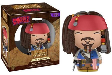 Funko Vinyl Sugar Dorbz Disney Pirates Of The Caribbean. Jack Sparrow Collectible Figure 8cm - 2