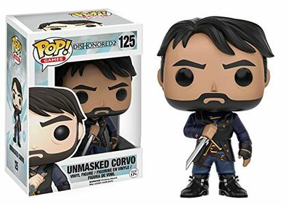 Funko POP! Dishonored Corvo Unmasked.