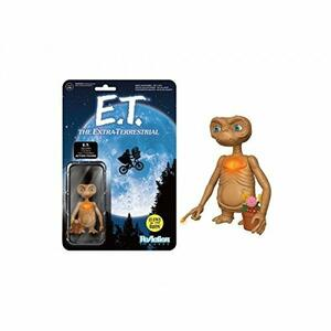 Funko ReAction. E.T. with Glow in the Dark Finger and Chest