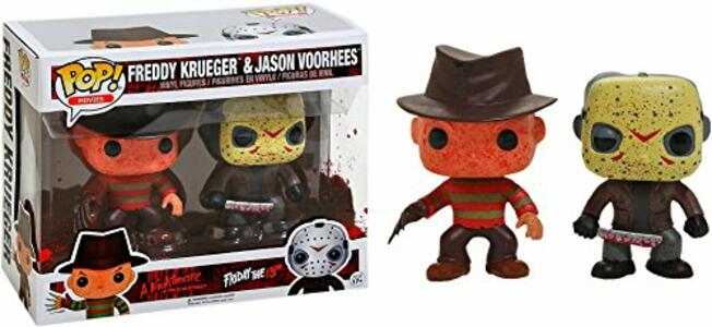 Funko POP! Horror. Freddy Krueger & Jason Voorhees 2-Pack - 2