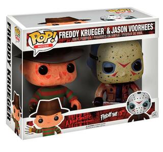 Funko POP! Horror. Freddy Krueger & Jason Voorhees 2-Pack - 3