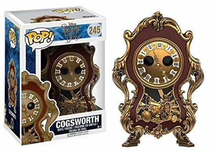 Funko POP! Beauty and the Beast Live Action. Cogsworth