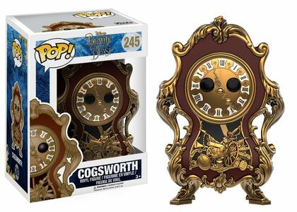 Funko POP! Beauty and the Beast Live Action. Cogsworth - 4