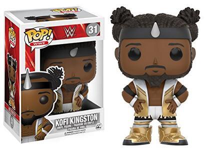 Funko POP! WWE Superstars Red Tag Team. Kofi Kingston - 3