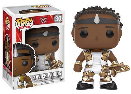 Funko POP! WWE Superstars Red Tag Team. Xavier Woods