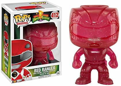 Funko POP! Television. Power Rangers. Red Ranger Morphing