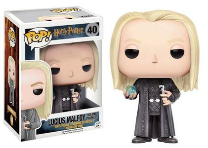 Funko POP! Movies. Harry Potter. Lucius Malfoy with Prophecy - 3