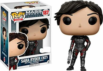 Funko POP! Games Mass Effect Andromeda. Sara Ryder. N7 with Gun