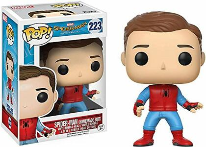 Funko POP! Movies. Spider-Man Homecoming. Spider-Man Unmasked. Homemade Suit