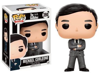 Action Figure Funko 13446 The Godfather, Pop Vinyl Figure 390 Michael Corleone In Grey Suit - 3