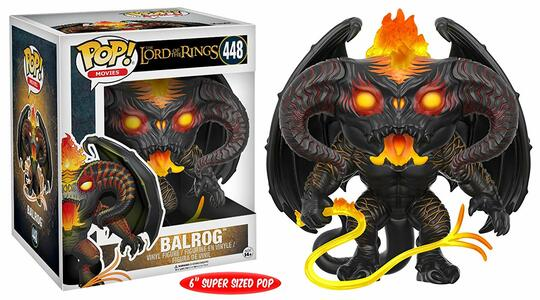 Funko POP! Movies. Lord Of The Rings. Balrog Oversized - 4