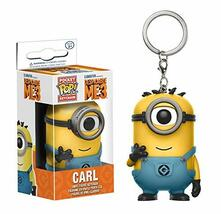 Funko POP! Keychain. Despicable Me 3. Carl. In Minion Jumpsuit