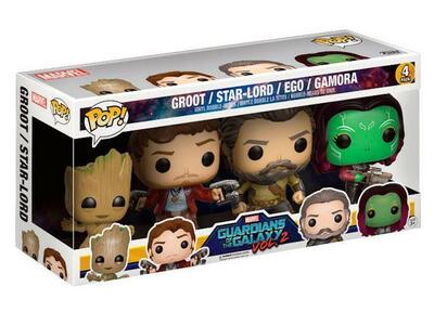 Funko POP! Marvel Guardians of the Galaxy vol. 2. 4-Pack 2 - 3