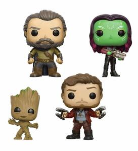Funko POP! Marvel Guardians of the Galaxy vol. 2. 4-Pack 2 - 4