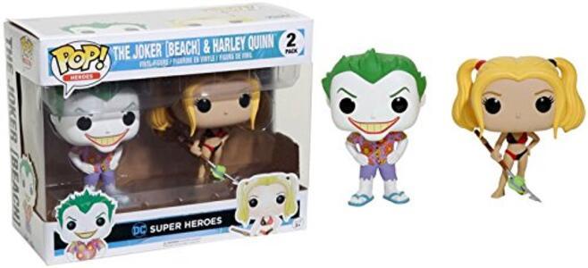 Funko POP! DC Beach Joker & Harley.s 2-pack - 2