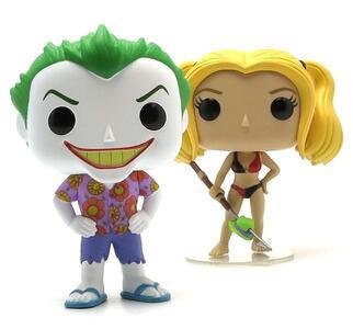 Funko POP! DC Beach Joker & Harley.s 2-pack - 4