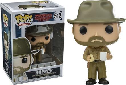 Funko POP! Television. Stranger Things Hopper - 4