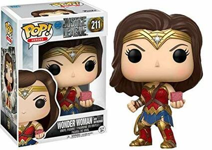 Funko POP! Justice League. Wonder Woman with Mother Box