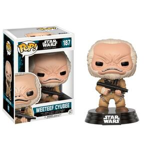 Funko POP! Star Wars Rogue One. Weeteef Cyubee