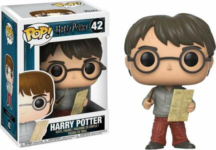 Funko POP! Movies. Harry Potter. Harry with Marauders Map - 5