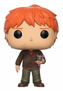 Funko POP! Movies. Harry Potter. Ron with Scabbers