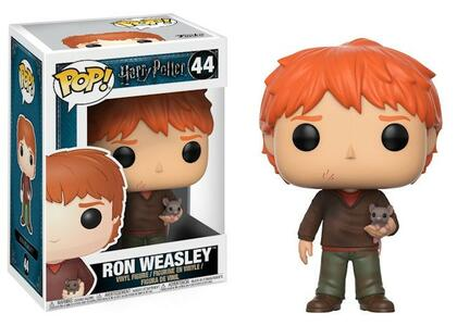 Funko POP! Movies. Harry Potter. Ron with Scabbers - 4