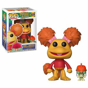Funko POP! Television. Fraggle Rock. Red with Doozers