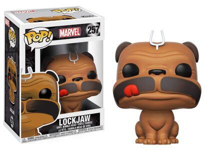 Funko POP! Marvel. Inhumans Lockjaw Bobble-Head