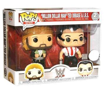 Funko POP! WWE. IRS & Million Dollar Man. 2-Packs - 3