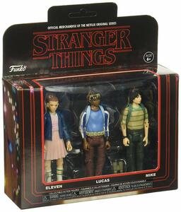 Funko Vinyl Television Stranger Things. 3-PACK #1. Eleven, Lucas & Mikes - 2