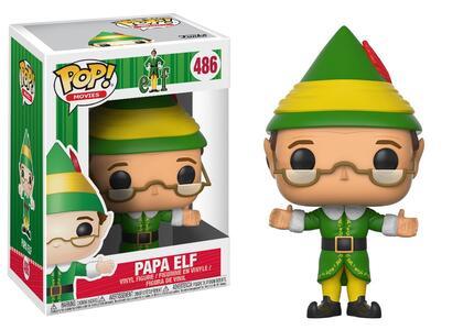 Funko POP! Movies. Buddy the Elf. Papa Elf