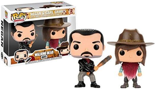 Funko POP! The Walking Dead. Negan & Carl. 2-Packs