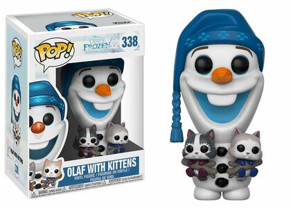 Funko POP! Disney Olafs Frozen Adventure. Olaf with Cats