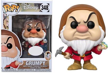 Funko POP! Disney. Snow White. Grumpy with Diamond Pick - 5