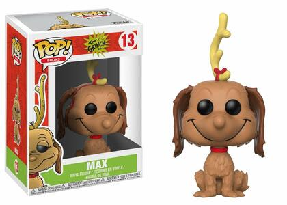 Funko POP! Books Dr. Seuss The Grinch. Max the Dog