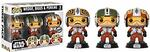 Funko Star Wars. Pilots Wedge, Biggs & Porkins.s 3-pack