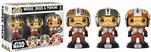 Funko Star Wars. Pilots Wedge, Biggs & Porkins.s 3-pack - 3