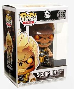 Funko POP! Games Mortal Kombat. Scorpion Skull Head Exclusive - 4