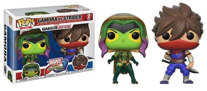 Funko POP! Games Marvel vs. Capcom Infinite. Gamora vs Strider 2-PACK - 2