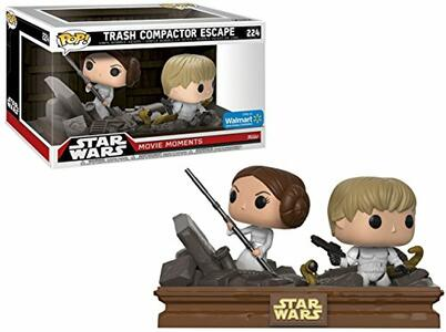 Funko Star Wars. Movie Moments. Luke & Leia Trash Compactor.s